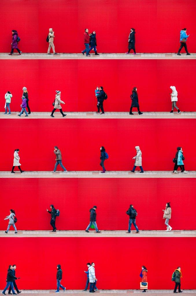 Time Lapse. Beijing