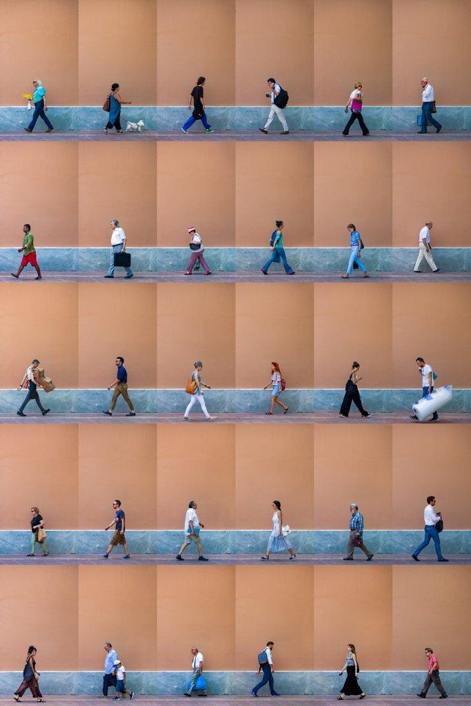 Time Lapse. Ioannou Paparrigopoulou St Athens